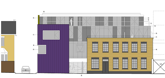 proposed main elevation | Goulton Road