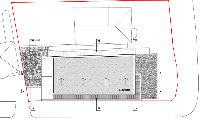 roof plan - consent